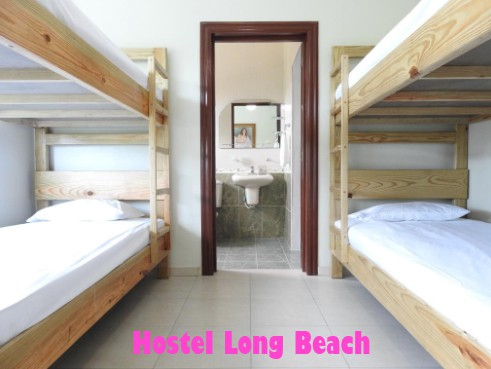 Hostel Long Beach mochilera divertida