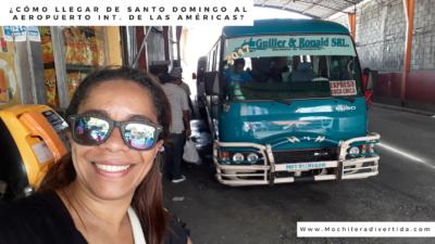Cómo llegar desde Santo Domingo al Aeropuerto Internacional de las Américas