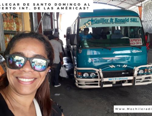 Cómo llegar de Santo Domingo al Aeropuerto Internacional de las Américas?
