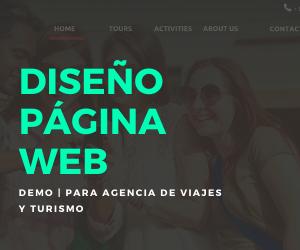 PÁGINA WEB | para Agencia de viajes y turismo