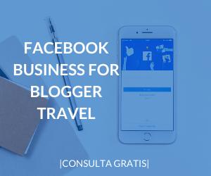 facebook business for travel blogger