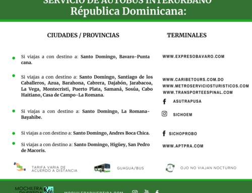 SERVICIO DE AUTOBÚS INTERURBANO