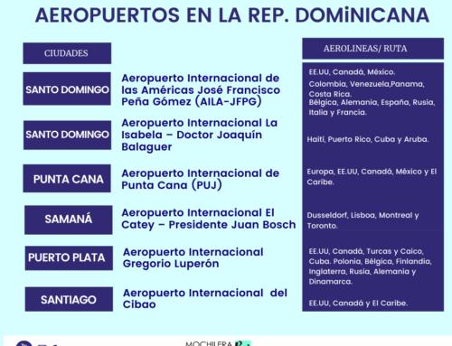 AEROPUERTOS EN LA REP.DOMINICANA