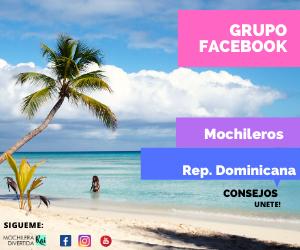 GRUPO FACEBOOK MOCHILEROS REP. DOMINICANA