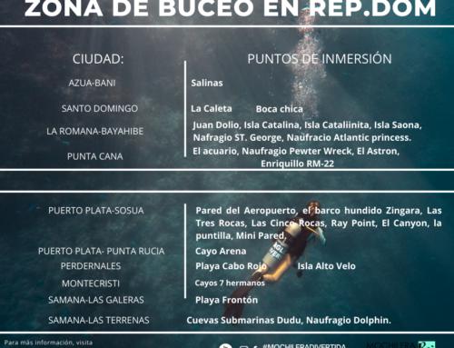 ZONA DE BUCEO EN REP.DOM.